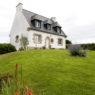 typisches Haus in der Bretagne in Frankreich